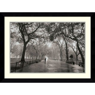 Henri Silberman 'Poet's Walk' Framed Art Print