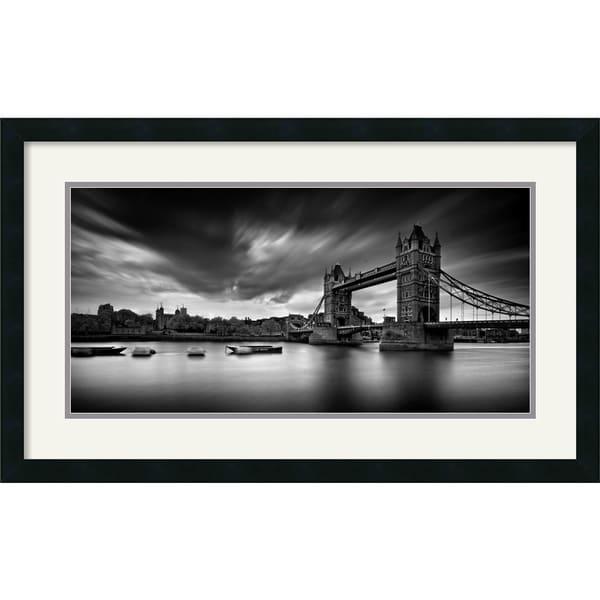 Marcin Stawiarz 'Tower Bridge' Framed Art Print