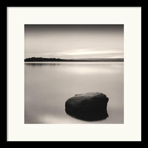 Andrew Ren 'Solo Floating on Ottawa River, Study 2 (detail)' Framed Art Print
