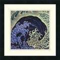 Katsushika Hokusai 'Feminine Wave' Framed Art Print