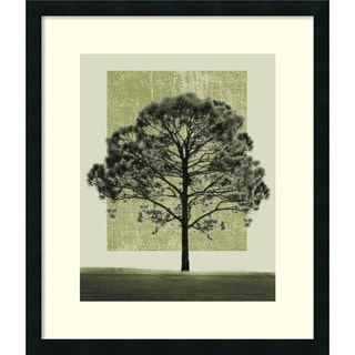 Harold Silverman 'Nature's Shapes I' Framed Art Print