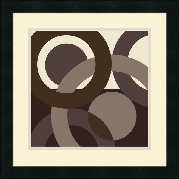 Denise Duplock 'Circa' Framed Art Print