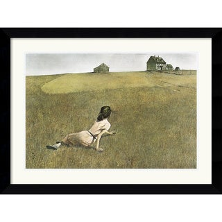 Andrew Wyeth 'Christina's World' Framed Art Print