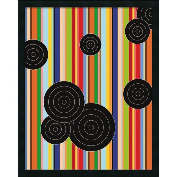 Ron Bleier 'Multiple Universe, No Lines ' Framed Art Print