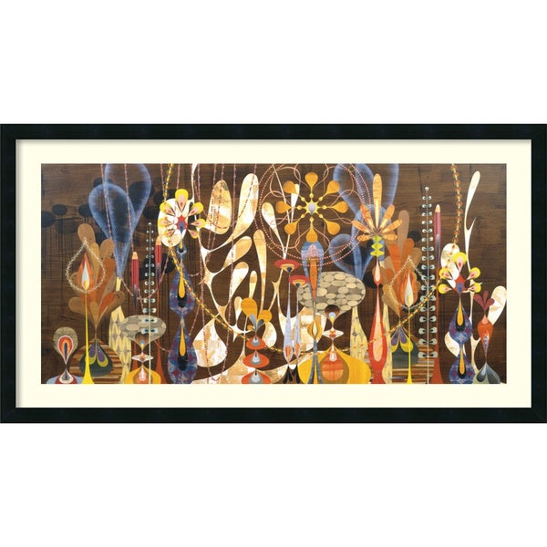 Rex Ray 'Megalaria' Framed Art Print