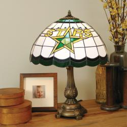 Tiffany-style Dallas Stars Lamp