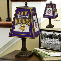 Minnesota Vikings 14-inch Art Glass Lamp