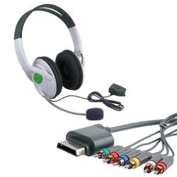 INSTEN Component Cable/ Headset for Microsoft Xbox 360