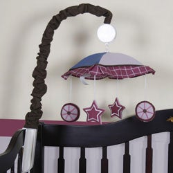 Western Cowgirl Horse Musical Mobile