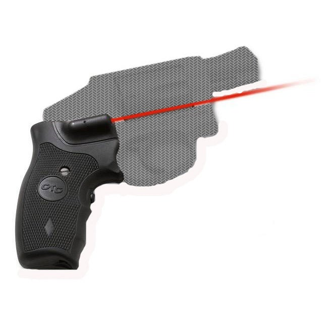 Crimson Trace Smith & Wesson J Round Butt Overmold LaserGrip
