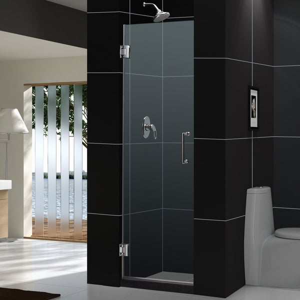 DreamLine Unidoor Shower Doors Frameless 30x72 Shower Door Enclosures
