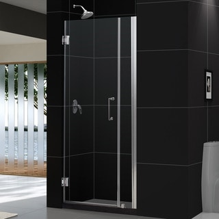 DreamLine Unidoor 33-37x72-inch Frameless Hinged Shower Door