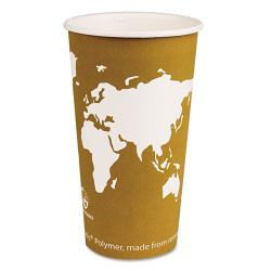 Eco-Products World Art Compostable 20-oz Hot Drink Cups