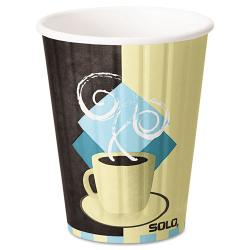 SOLO Duo Shield Hot Insulated 12-oz Paper Cups