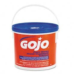 Gojo Fast Wipes Cloth Hand Cleaning Towels