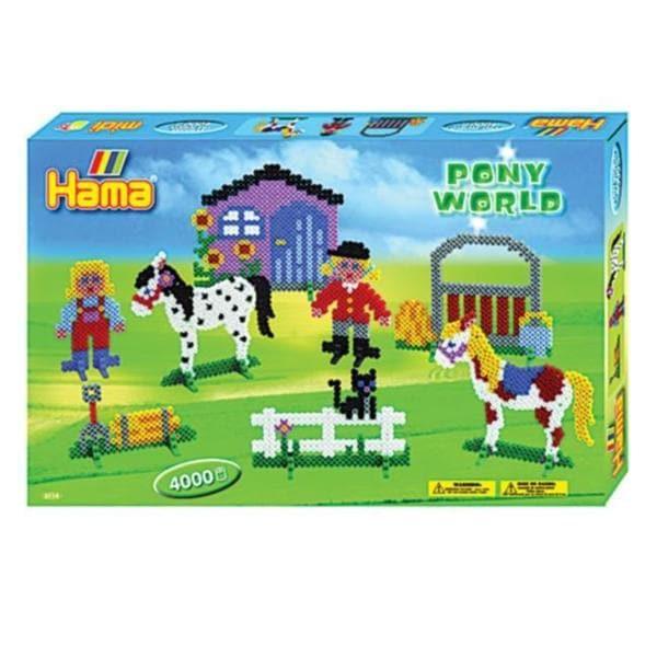 Hama Pony World Ironing Beads Gift Box