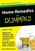 Home Remedies for Dummies Refrigerator Magnet Books (Hardcover)