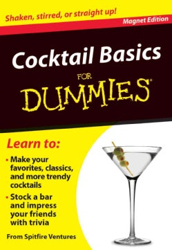 Cocktail Basics for Dummies Refrigerator Magnet Books (Hardcover)