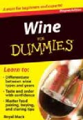 Wine for Dummies Refrigerator Magnet Books (Novelty book)