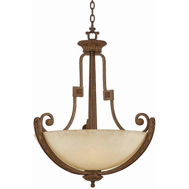 Ambassador Morrocan Bronze 4-light Pendant