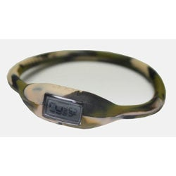 TRU: Camouflage Silicone Band Sports Watch