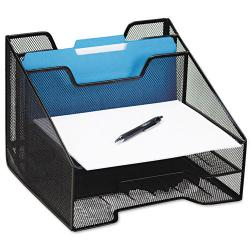 Rolodex Mesh Combination Desk Sorter