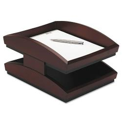 Rolodex Executive Woodline II Desk Tray