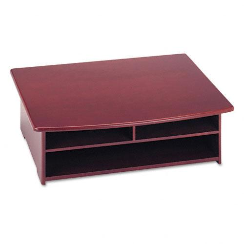 Rolodex Wood Mahogany Desktop Printer Stand