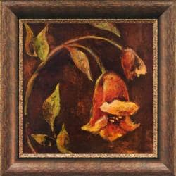 Georgie 'Flowers And Leaves II' Framed Wall Art