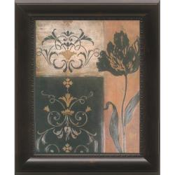 'Tulip Silhouette' Framed Wall Art