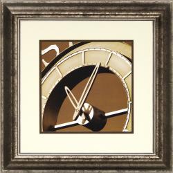 Richard Hall 'World Clock IV' Framed Wall Art