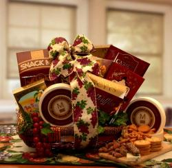 Putting On The Ritz Holiday Gift Basket