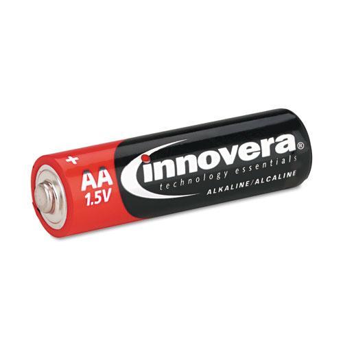 Innovera Alkaline AA Batteries (Pack of 8)