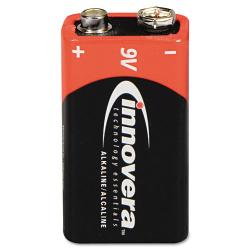 Innovera Alkaline 9V Batteries (Pack of 4)