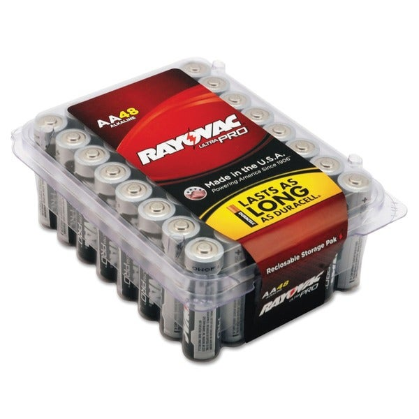 Rayovac Ultra Pro Alkaline AA Batteries (Case of 48)