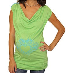 Peace, Love & [Bump] Unity Maternity Top