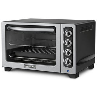 KitchenAid KCO222OB Onyx Black 12-inch Countertop Oven