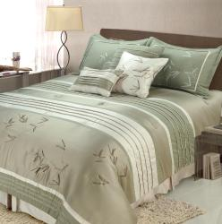 Jenny George Designs Sansai 7-piece Full/ Queen-size Comforter Set
