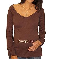[Bump]tastic Long-sleeve Maternity Top