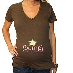 Star [Bump] Maternity V-neck Top