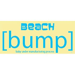 Beach [Bump] Maternity Scoop Neck Tank Top