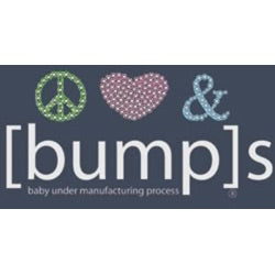 Peace Love & [Bump]s Maternity Scoop-neck T-shirt