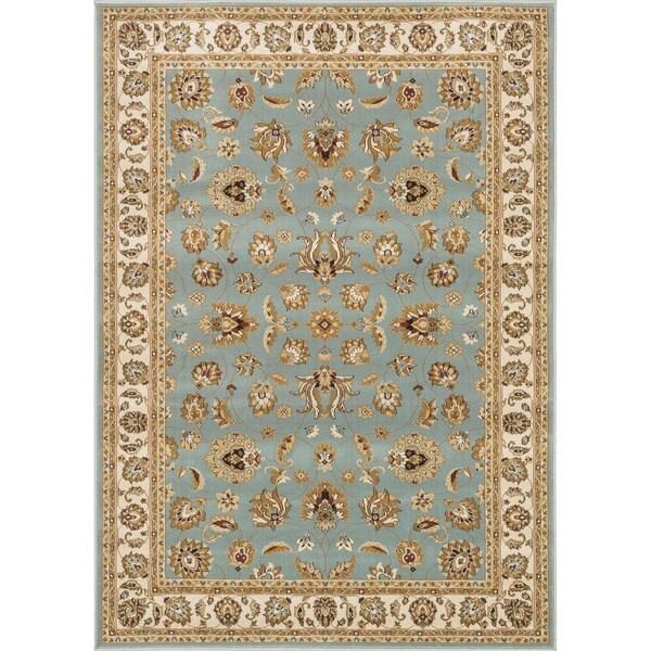 Primeval Blue Oriental Rug (9'2 x 12'7)