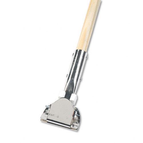 Unisan Wood Clip-on Swivel Head Dust Mop Handle