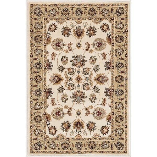 Primeval Ivory/ Beige Oriental Rug (2' x 3')