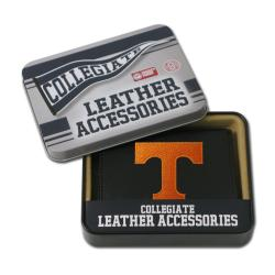 Tennessee Volunteers Men's Black Leather Tri-fold Wallet