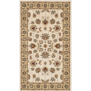 Primeval Ivory/ Beige Oriental Rug (2'3 x 3'9)