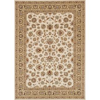 Primeval Ivory/ Beige Oriental Rug (7'7 x 10'6)