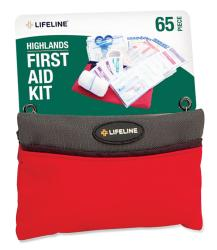 Lifeline First Aid Highland 65-piece First Aid Kits (Pack of 12)