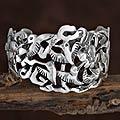 review detail Silver 'Hummingbird Mystique' Cuff Bracelet (Mexico)